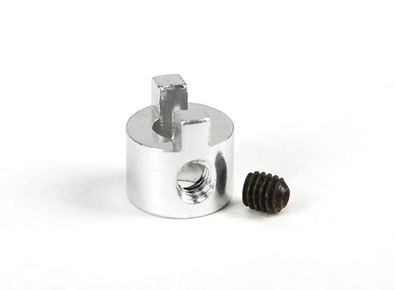 4 milímetros haste de alumínio Dog Drive com Grub Screw