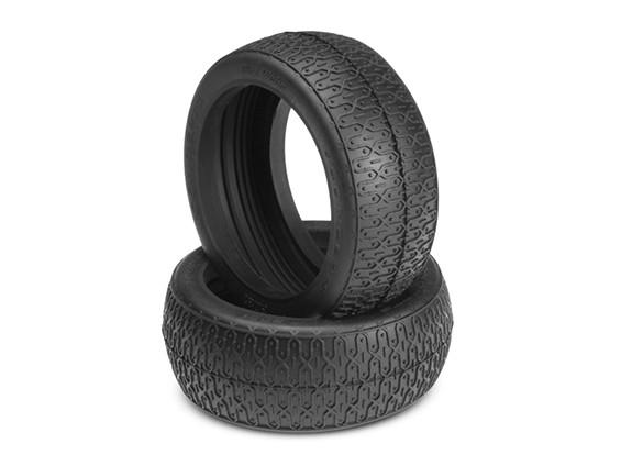JConcepts Webs sujeira 1 / 8th buggy Tires - Verde (Super Soft) Composto