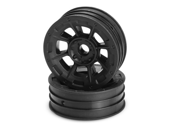 JConcepts Hazard 1 / 10th Buggy Frente Rim - Black