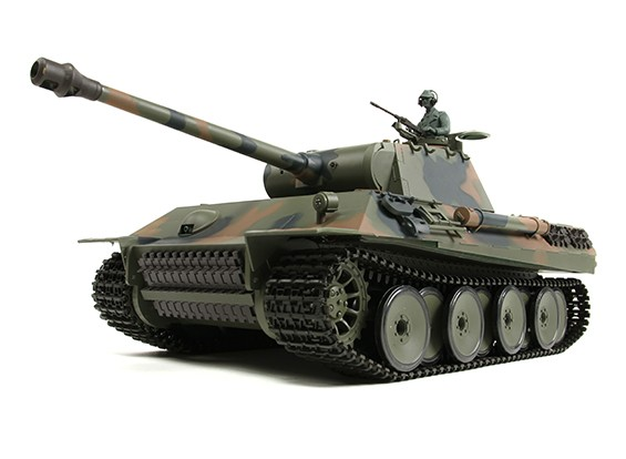 PzKw alemão V (Panther) RC Tanque RTR w / Airsoft & Tx (plug EUA)