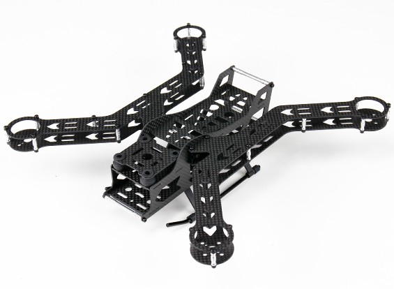 Hobbyking ™ S300 FPV Racer Composite Kit 300 milímetros
