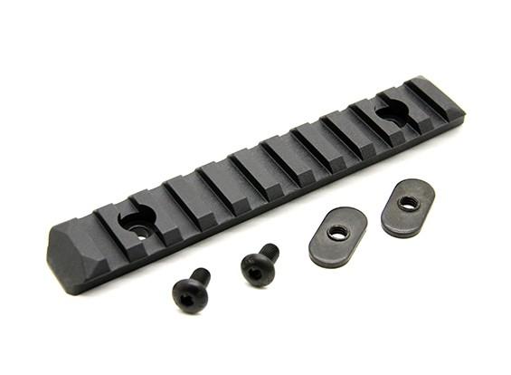PTS melhorada secção de carril 11 Slots (preto)