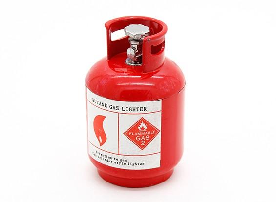 1/10 Escala butano cilindro de gás - Red