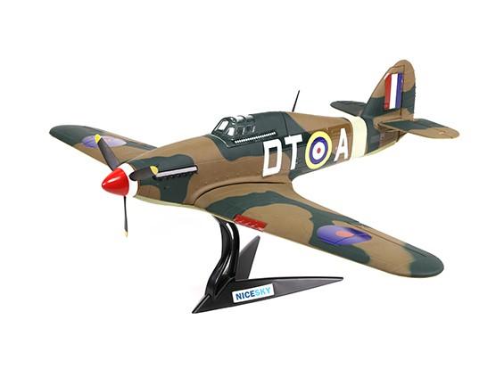 Hawker Hurricane Mk1a 700 milímetros 4 Channel Escala de lutador