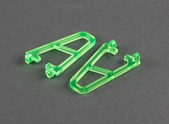 Trem de pouso para FPV250 V4 Santo Edição Verde (2 peças)