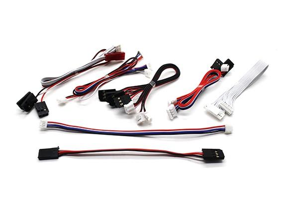 Walkera Tali H500 - Substituição de Sinais conjunto de cabos