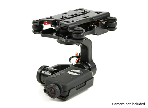 Quanum 3-Axis Mobius câmara com base Gimbal