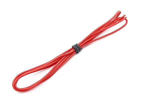 Turnigy alta qualidade 24AWG Silicone Fio 1m (vermelho)