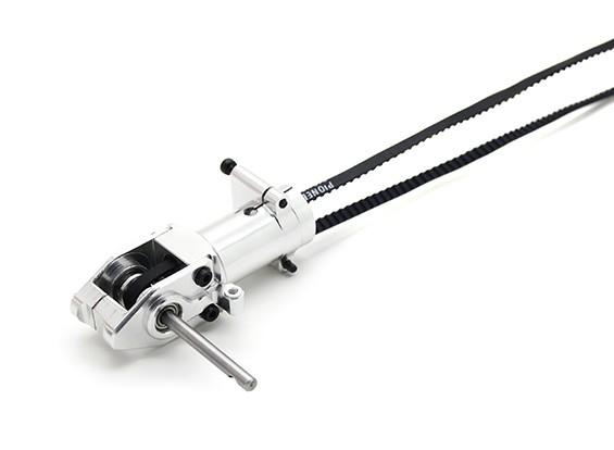 Assalto 450DFC Belt Flybarless 3D helicóptero do rotor de cauda Gearbox com eixo e Belt
