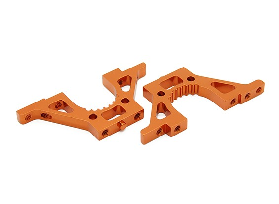 BT-4 Alumínio Painel lateral / Diff Mounts (L & R) TR1024