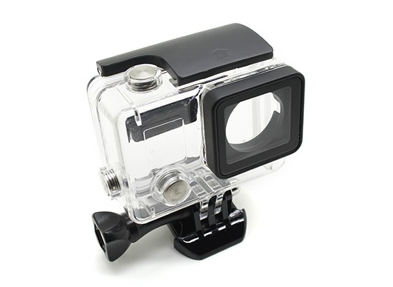 Esqueleto Habitação de proteção com lente para GoPro Hero 3 mais