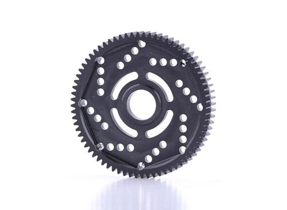 Engrenagem Spur revolução Projeto 48DPX 72T R2 Precision