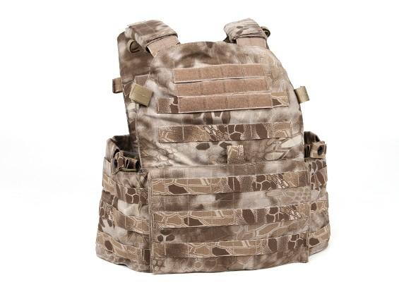 SWAT V6094 Vest com placa manequim (Nomad kryptek)
