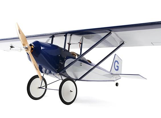 HobbyKing Pietenpol Air Camper v2 1,370 milímetros (azul / prata) ARF