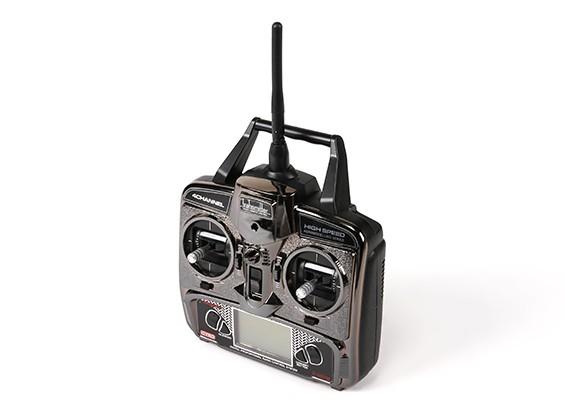 FX070C 2.4GHz 4CH Flybarless RC transmissor helicóptero de substituição (Mode1 & Mode2)