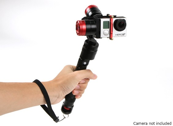 DYS mágica Pro 3 Axis Brushless Gimbal para GoPro Hero 3 / 3plus & 4