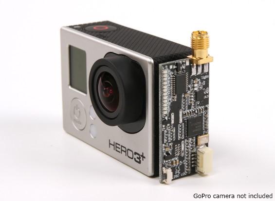 Turnigy Luz L250 5.8GHz 250mW FPV Transmissor para GoPro 3/3 mais