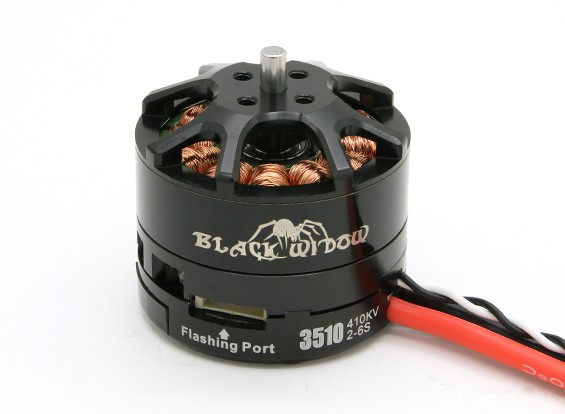 Black Widow 3510-410Kv com built-in ESC CW / CCW