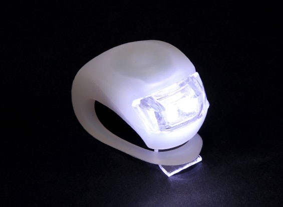 Branco Silicon Mini-Lamp (LED branco)