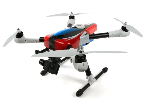 XK X500-A Mode 2 AirCam com câmera HD (os EUA)