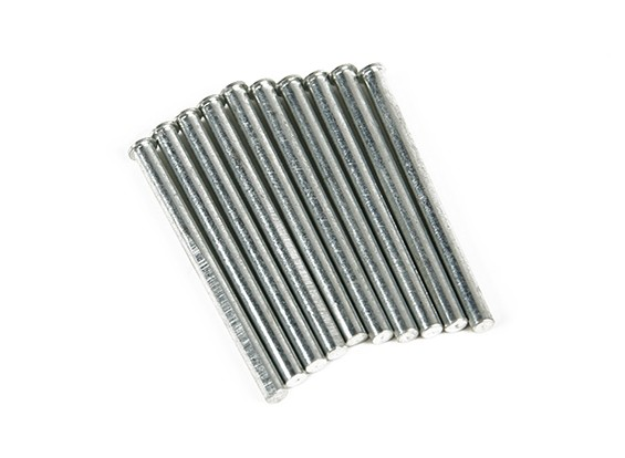 Retraem Pins para trem de nariz 3mm (10 peças por saco)