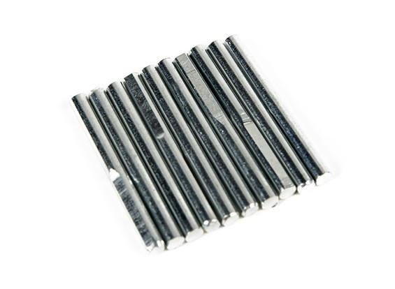 Retrair Pins para Principal engrenagem 3mm (10 peças por saco)