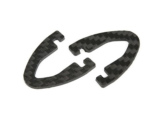 Diatone Lâmina 250 - Substituição Carbon Fiber Landing Gear (2pc)
