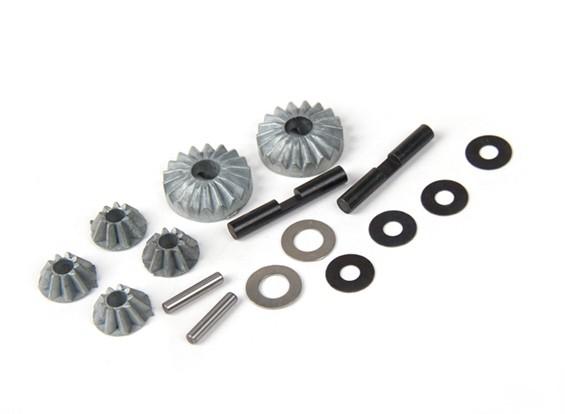 BSR Beserker 1/8 Truggy - Diff. Reparação Gear Set 813121
