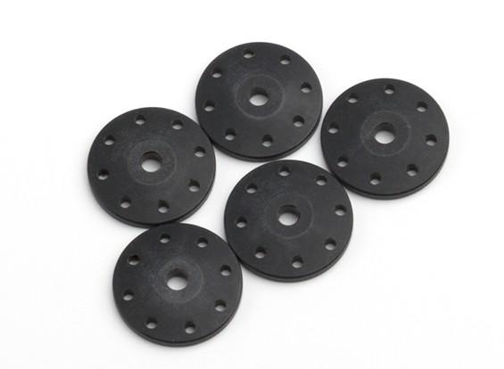 BSR Beserker 1/8 Truggy - Choque de pistão 1,5 milímetros furo (Black) (5pcs) 814151