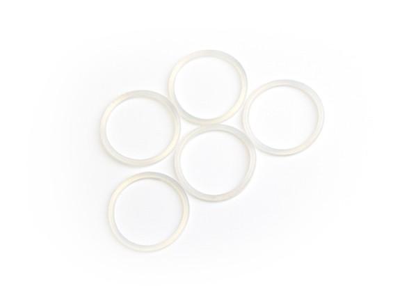 BSR Beserker 1/8 Truggy - 22x2mm Suspensão Ajustador O-ring (5pcs) 962202