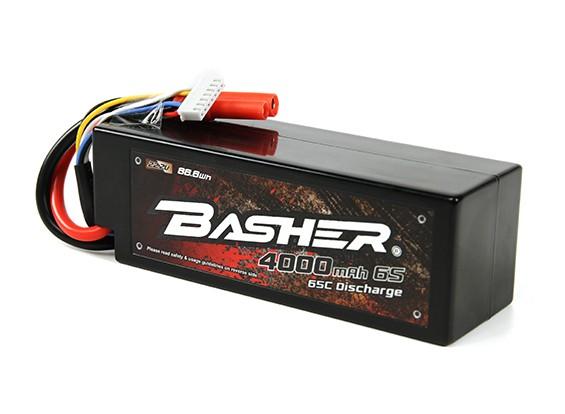 Basher 4000mAh 6S 65C Hardcase pacote