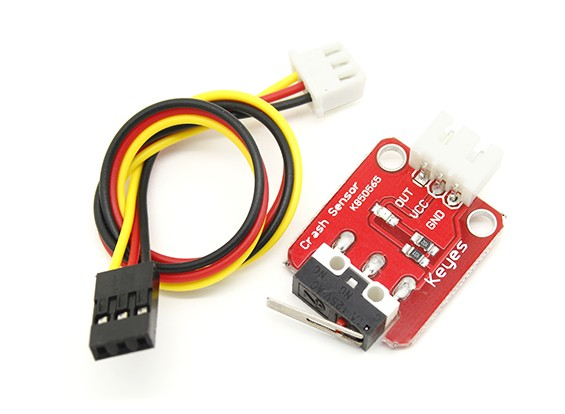 Keyes Stop / Collision switch com Line Out Para Kingduino