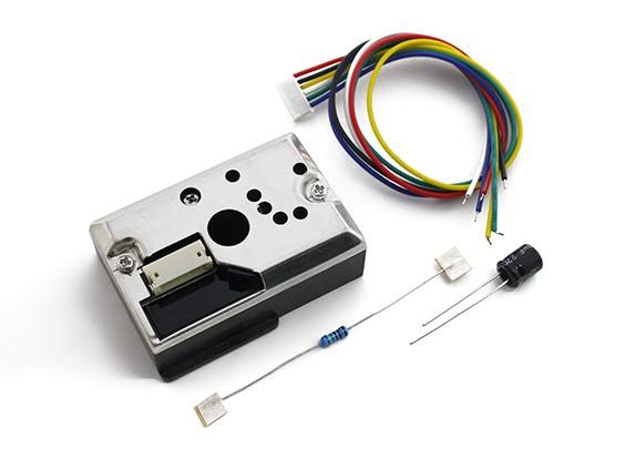 Sensor Dirt / Poeira afiado com Line Out Para Kingduino