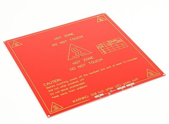 Impressora 3D Hot Plate MK2 Dual Power RepRap Mendel e rampas suportados