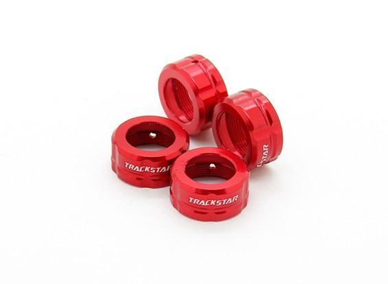 TrackStar Big Bore Cap End Choque -13mm (4) S124102