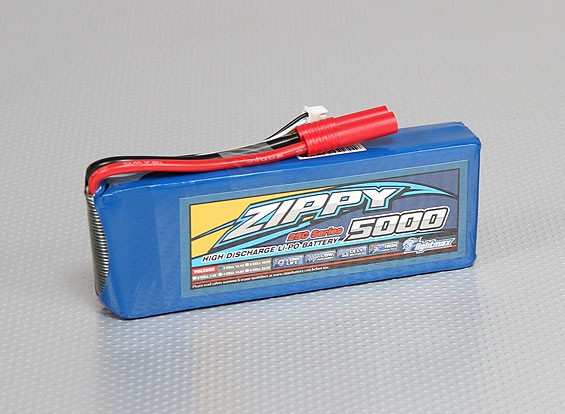 ZIPPY Flightmax 5000mAh 3S1P 25C