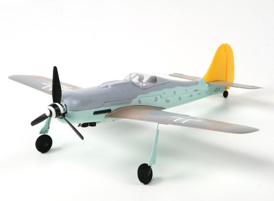 FW-190D Warbird 410 milímetros w / Lipoly Bateria (DSM2 Compatível)