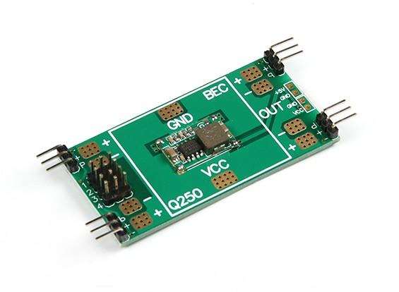 Placa de distribuição Q250 com 5V BEC para corridas Drones