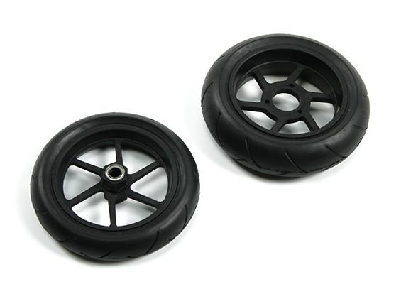 BSR 1000R peça de reposição - roda e pneu Conjunto