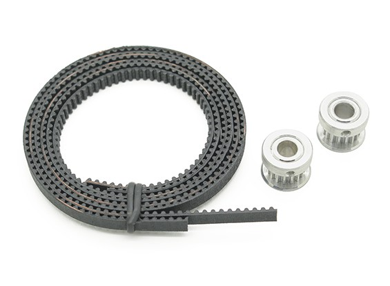 Turnigy Mini Fabrikator 3D v1.0 Printer peças sobressalentes - Correia dentada & polia