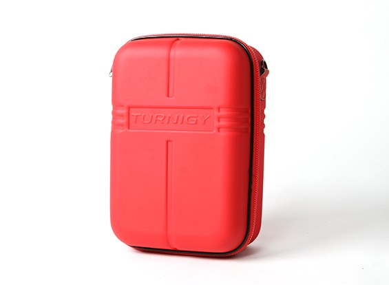 Turnigy Transmissor Caso w / FPV Goggle armazenamento - vermelho