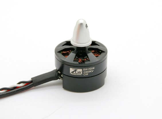 Black Widow 2204 2300KV com built-in ESC CW
