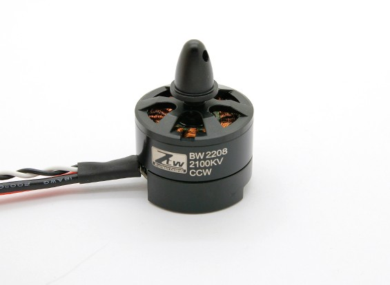 Black Widow 2208 2100KV com built-in ESC CCW