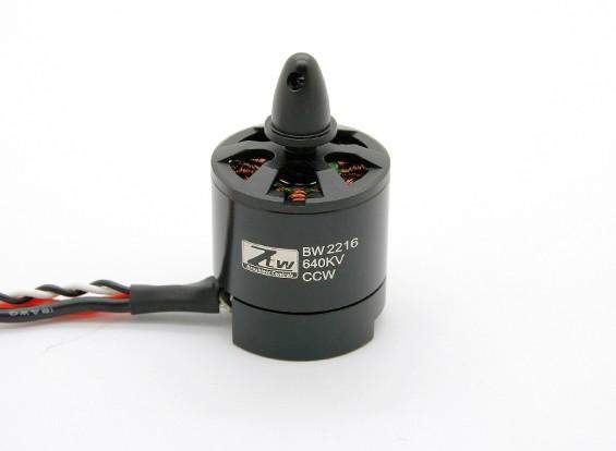 Black Widow 2216 640KV com built-in ESC CCW