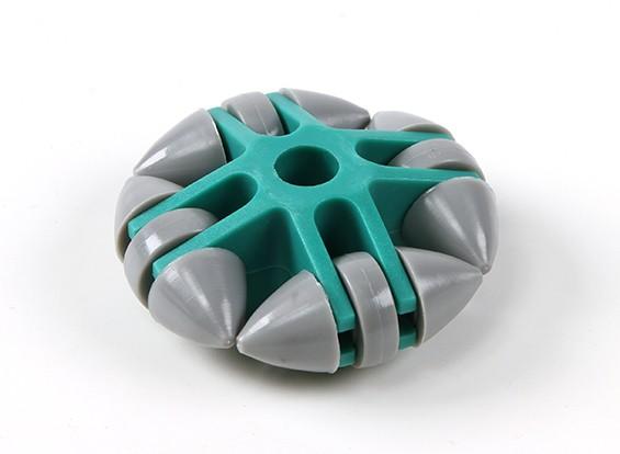 WK-01 Omni-Directional 50 milímetros rodas do robô Camada Única / 10 kg Circular Fitting