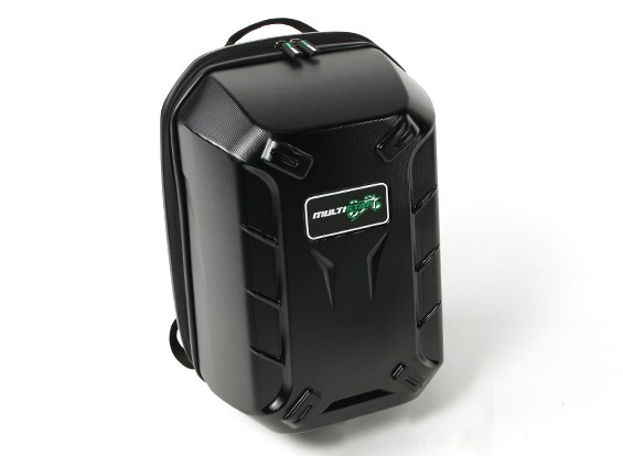 Multistar Hardcase Backpack para DJI Fantasma 3 Multirotor (Black)