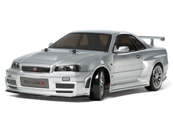 Tamiya 1/10 Escala Skyline GT-R Z-Tune R34 Series TT02D Kit 58.605