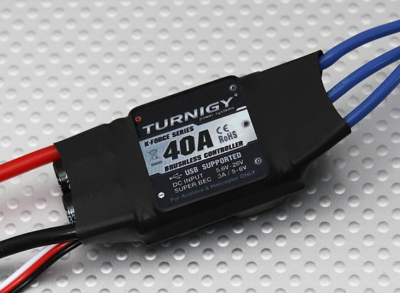 Turnigy K-Force 40A Brushless ESC