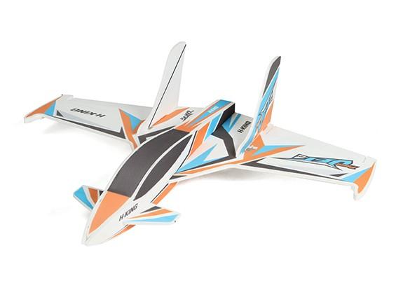 HobbyKing primeiro-Jet Pro - Glue-N-Go Series - Kit Foamboard (laranja / azul)