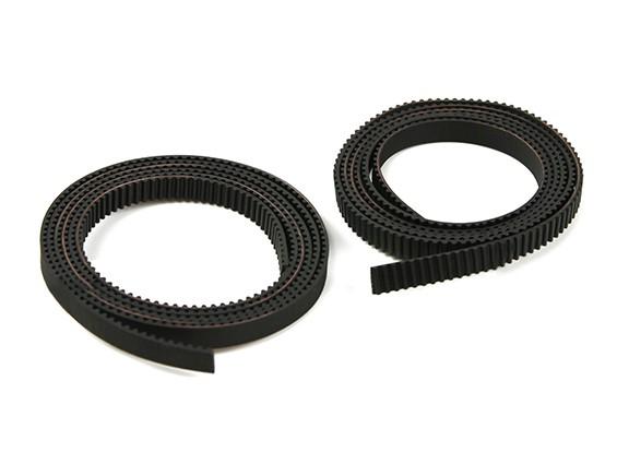 Printer Print-Rite DIY 3D - X e Y Belts do Eixo (10 cada)